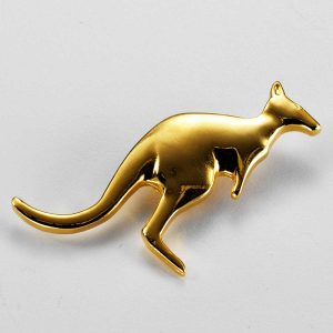 Australian Kangaroo Brooch Medium