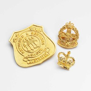 Emblem Badges Gold Plated