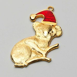Christmas Koala Charm Ornament